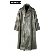 Пальто без застежки (пайетки)